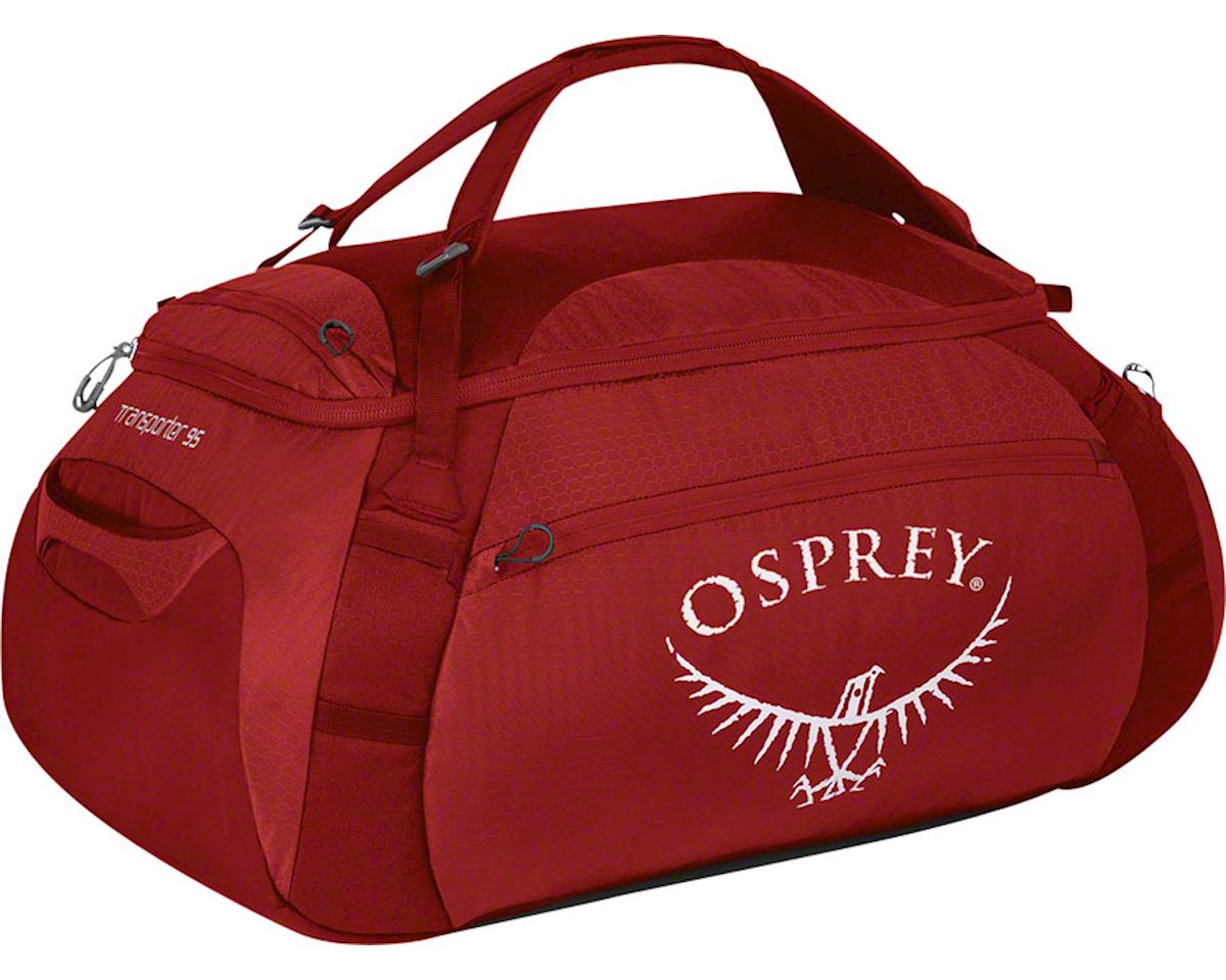 Osprey Transporter 95 Duffel Bag: Hoodoo Red