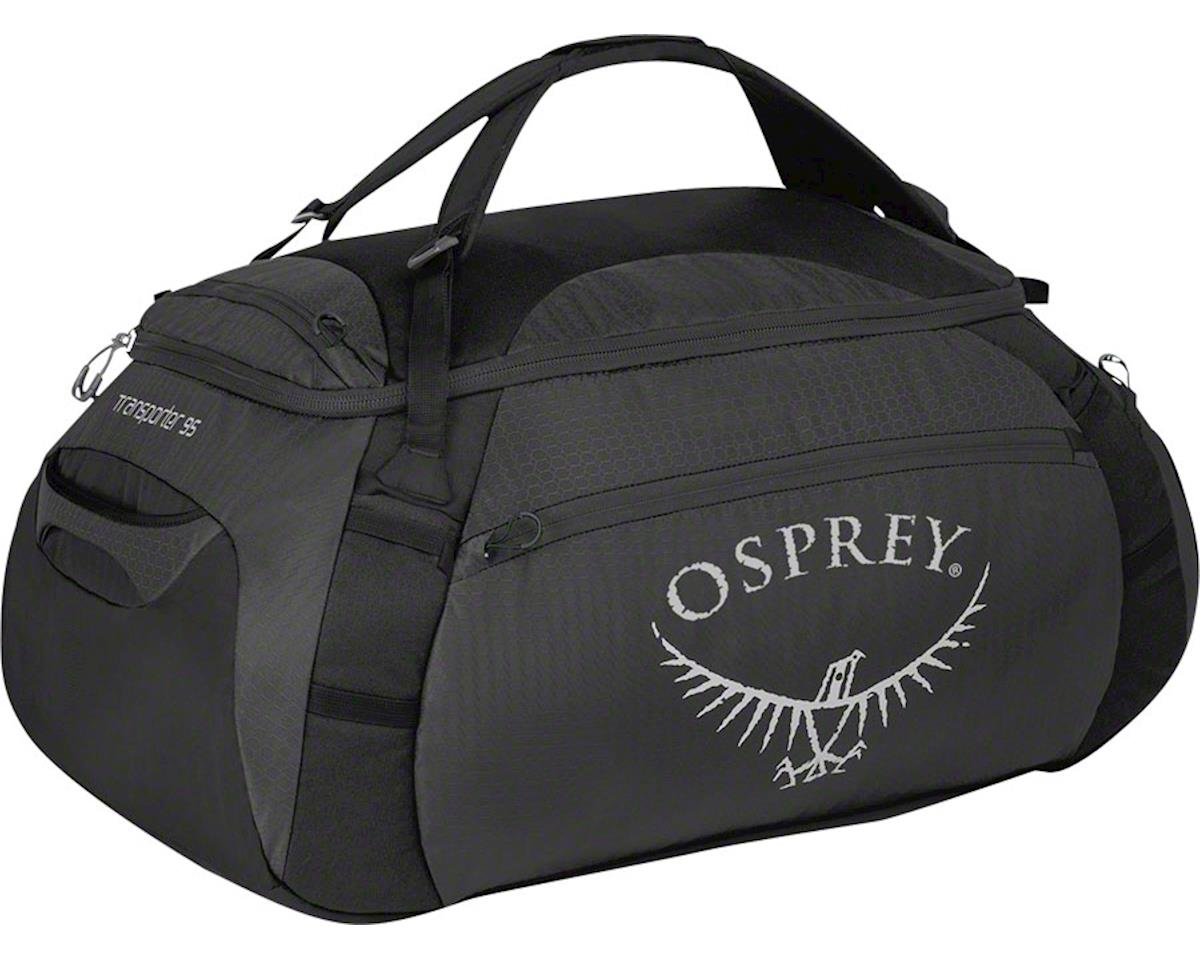 Osprey Transporter 95 Duffel Bag: Anvil Gray