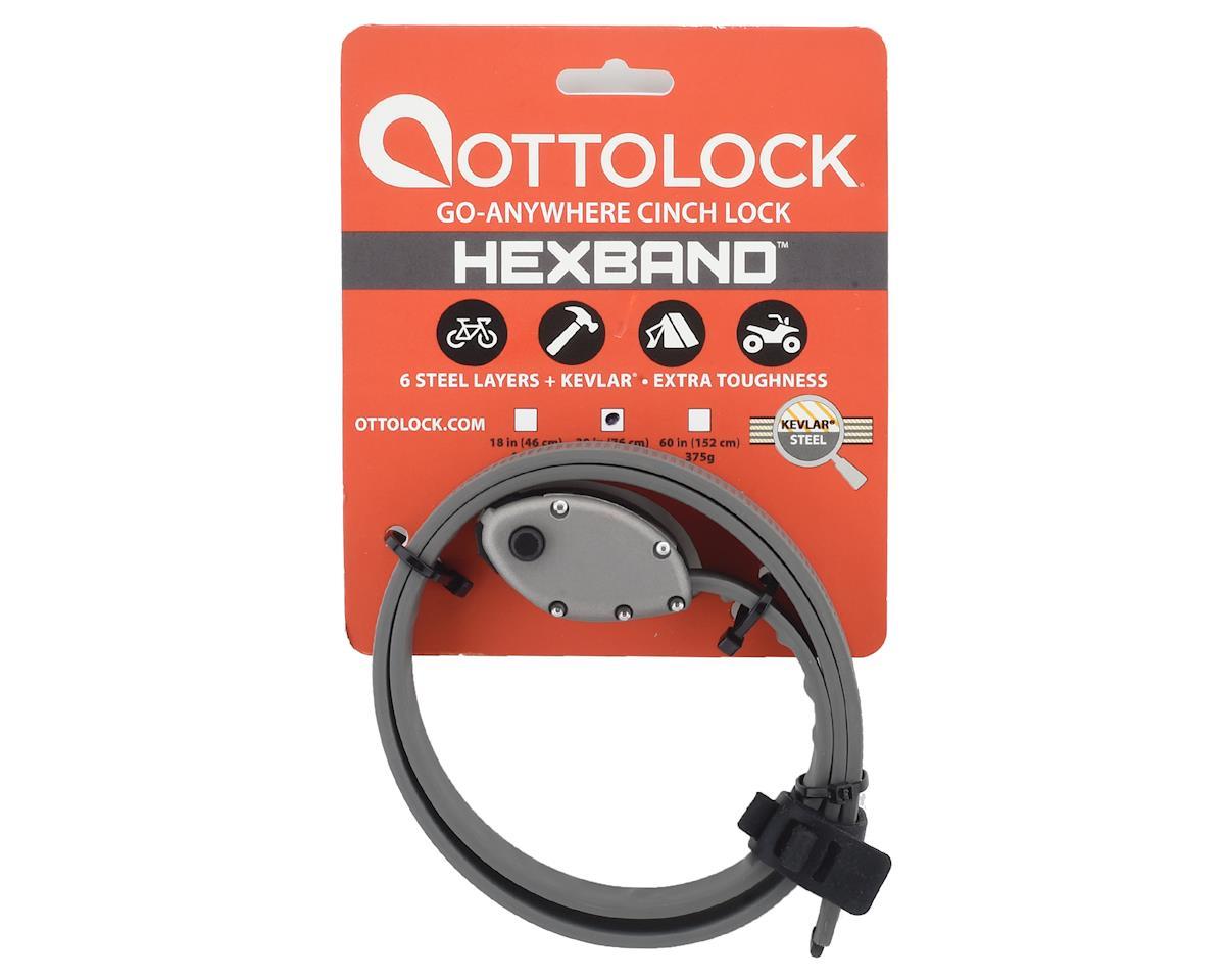 "Image 2 for Otto Design Works Ottolock Hexband Cinch Lock (Titanium Gray) (30"")"