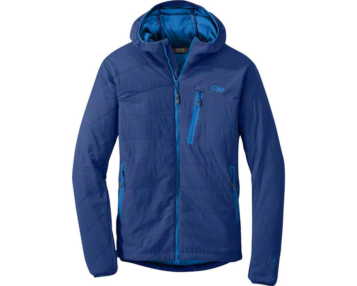 Outdoor Research Uber Layer Men's Hooded Jacket: Baltic, XL