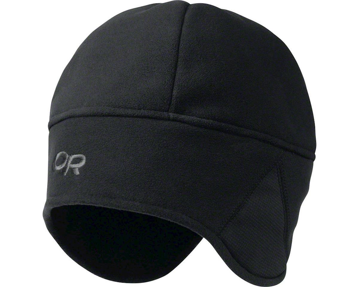 Outdoor Research Wind Warrior Hat (Black) (L/XL)