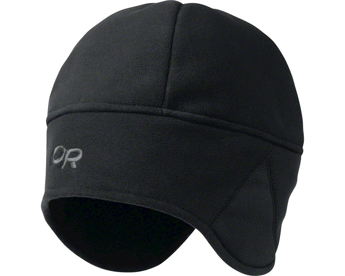 Outdoor Research Wind Warrior Hat: Black, LG/XL