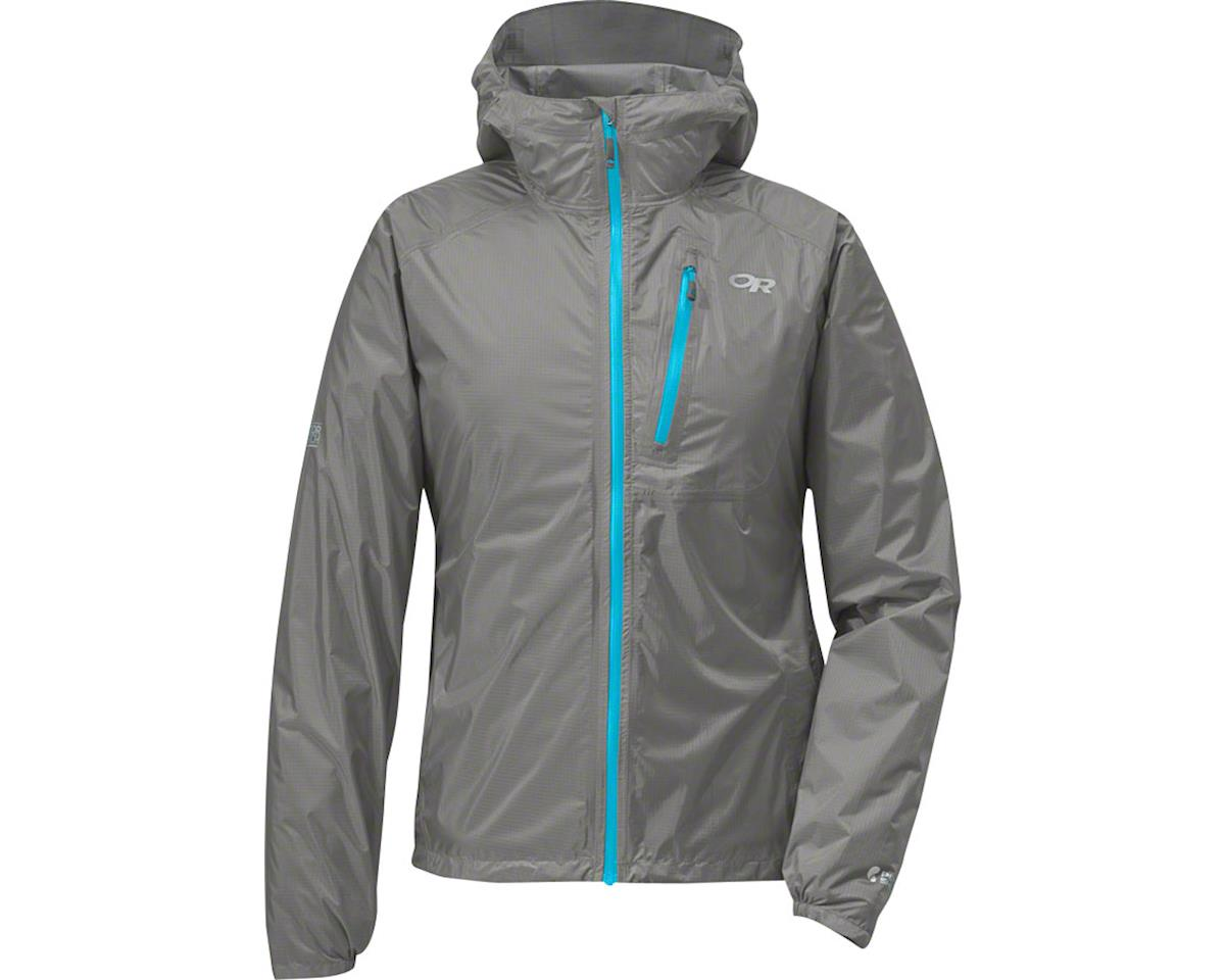 Outdoor Research Helium II Women's Jacket (Pewter Gray/Blue)