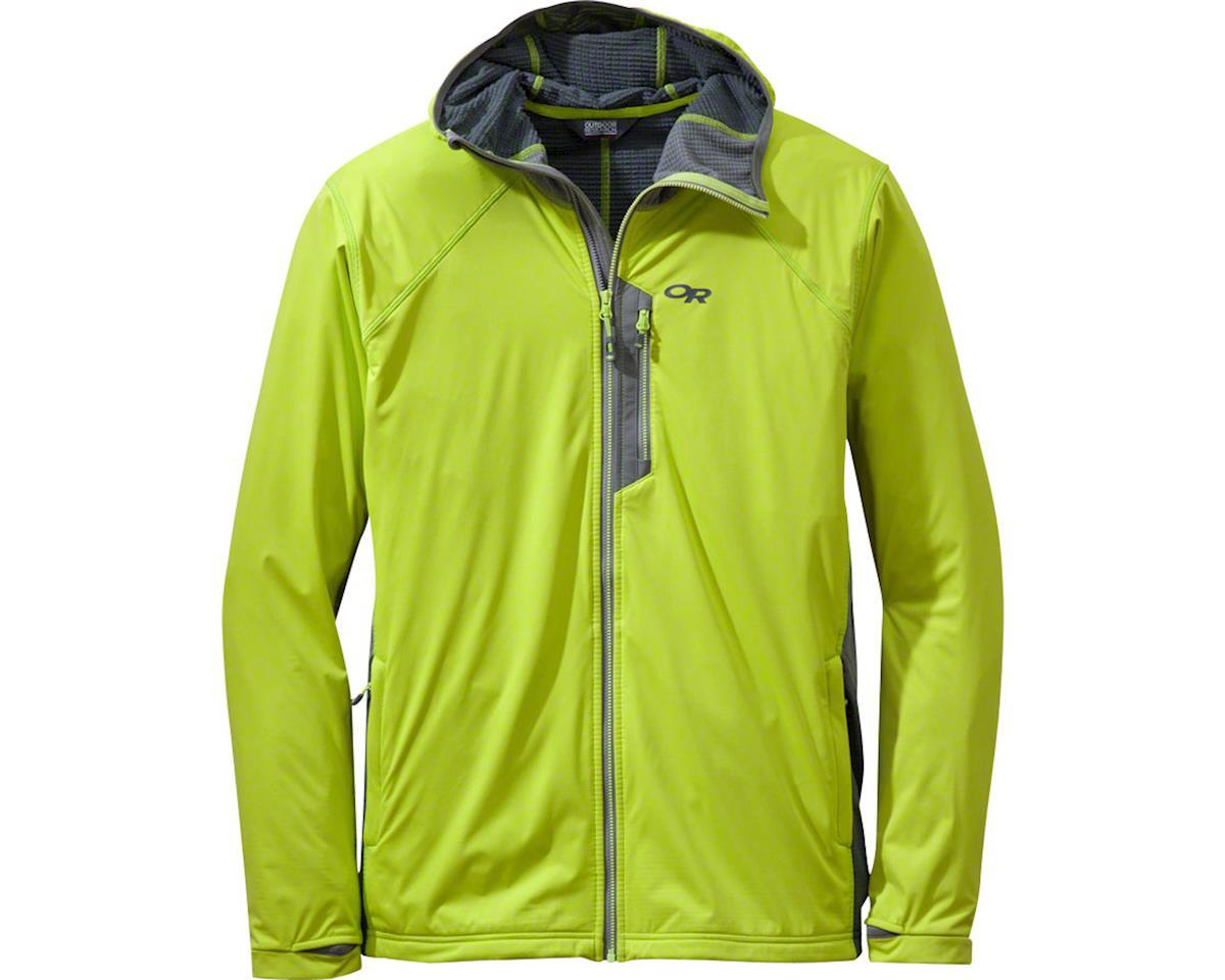 Centrifuge Men's Hooded Jacket (Lemongrass Yellow/Pewter Gray)