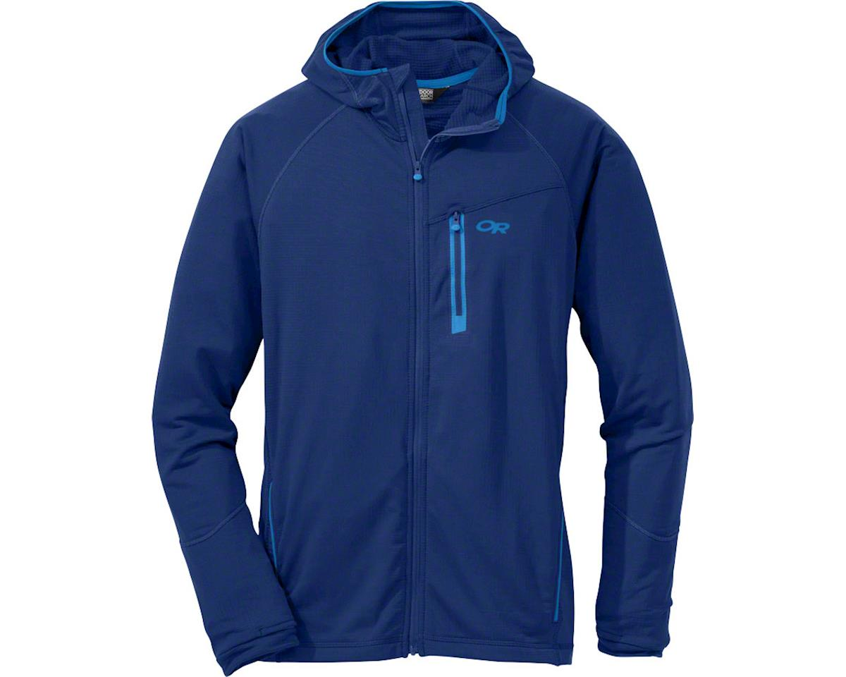 Outdoor Research Transition Men's Hooded Jacket: Baltic, LG