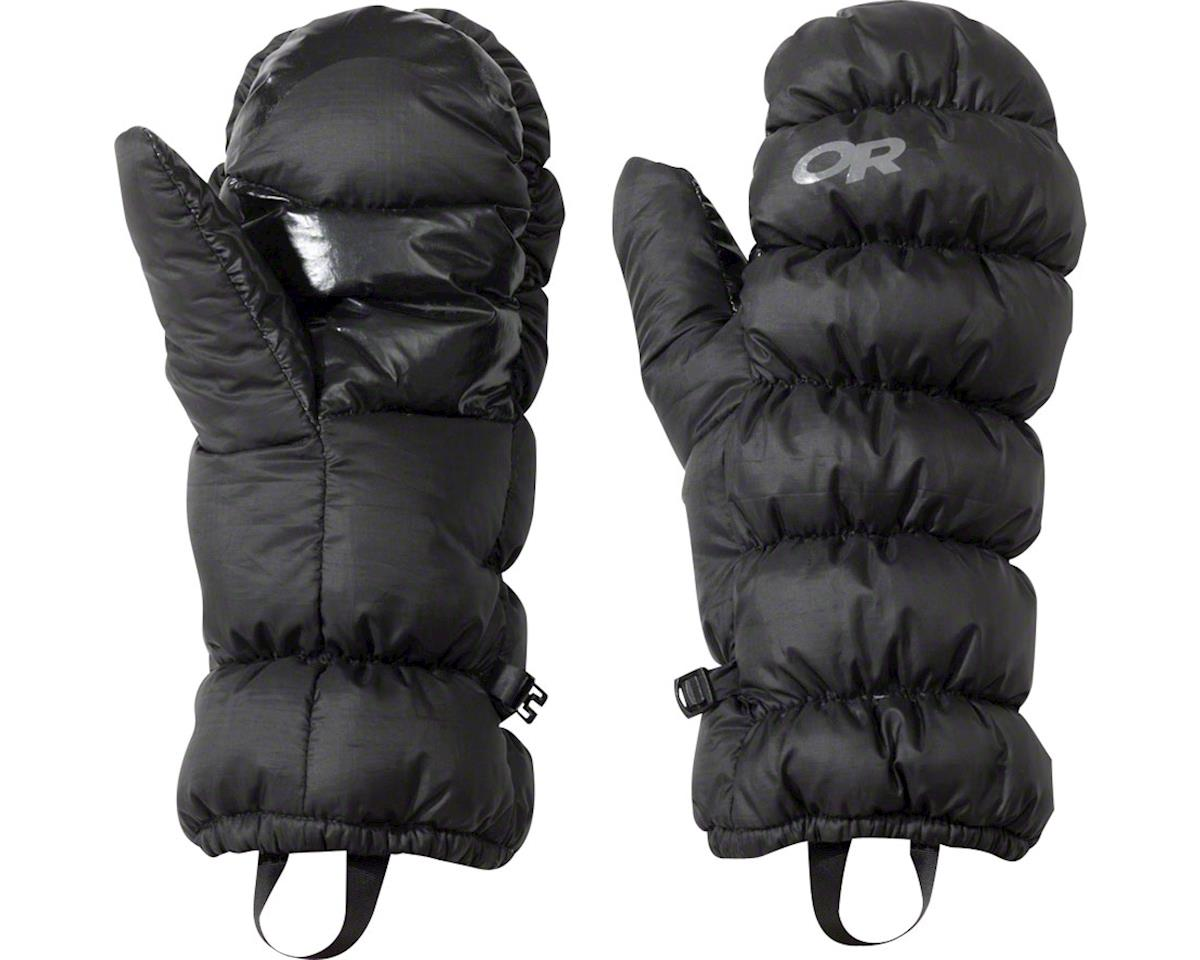 Outdoor Research Transcendent Down Mitts (Black) (L)