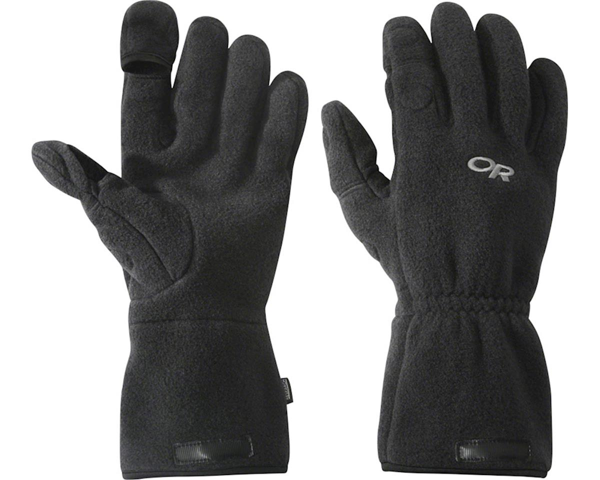 Outdoor Research Meteor Gloves (Black/Charcoal) (XL)