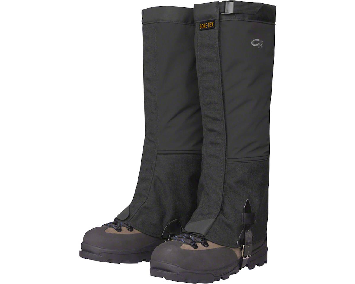 Outdoor Research Crocodiles Gaiters: Black, MD