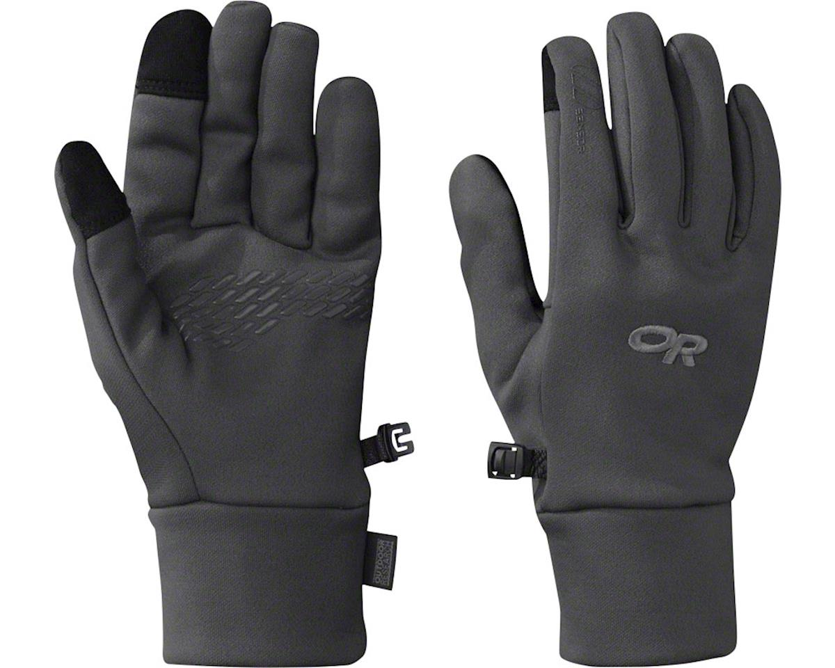 Outdoor Research PL100 Sensor Women's Gloves, Charcoal Heather, LG