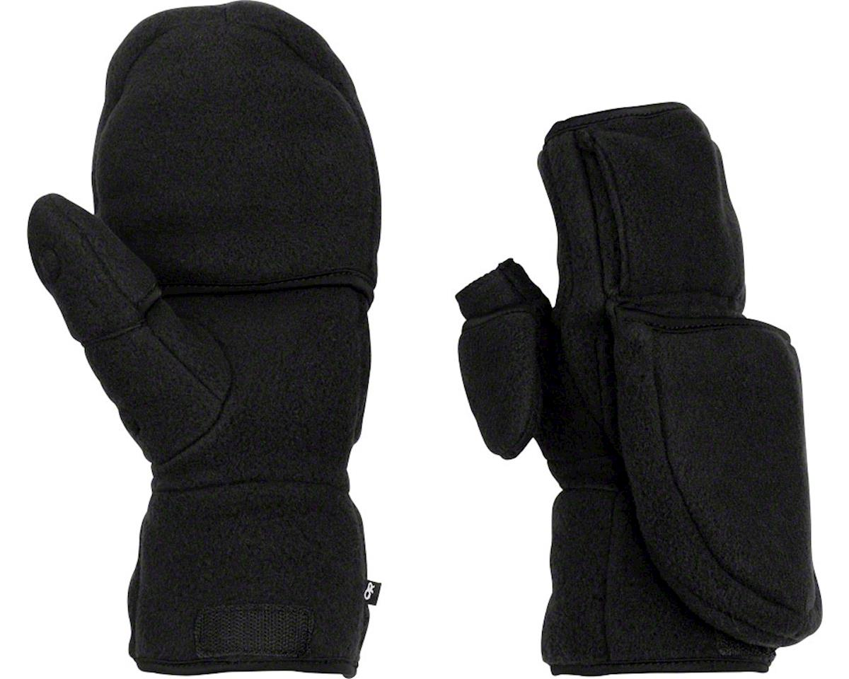 Outdoor Research Meteor Mitts (Black/Charcoal) (L)