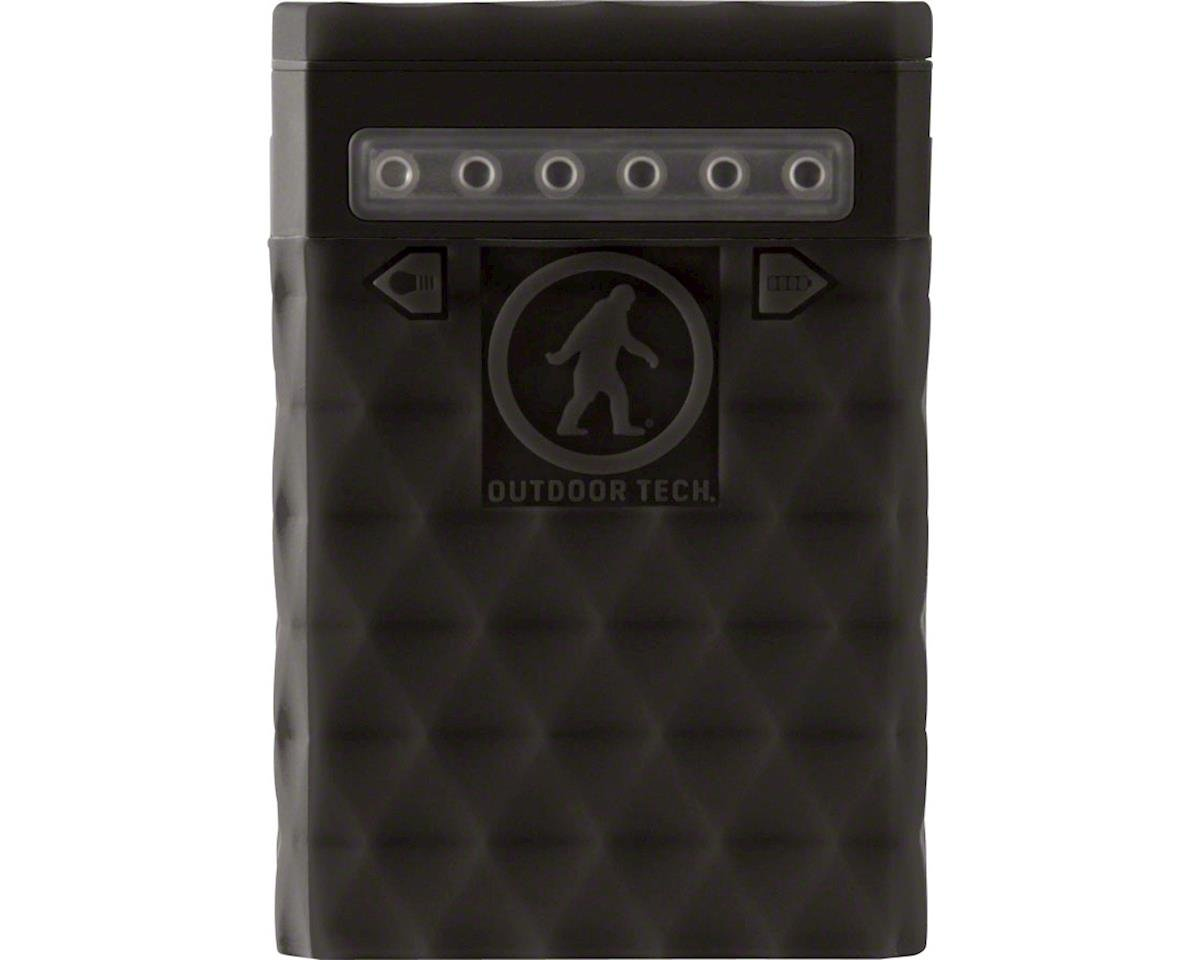 Outdoor Tech Kodiak Plus 2.0 USB Power Bank 10000 Milli Amp: with LED light stri