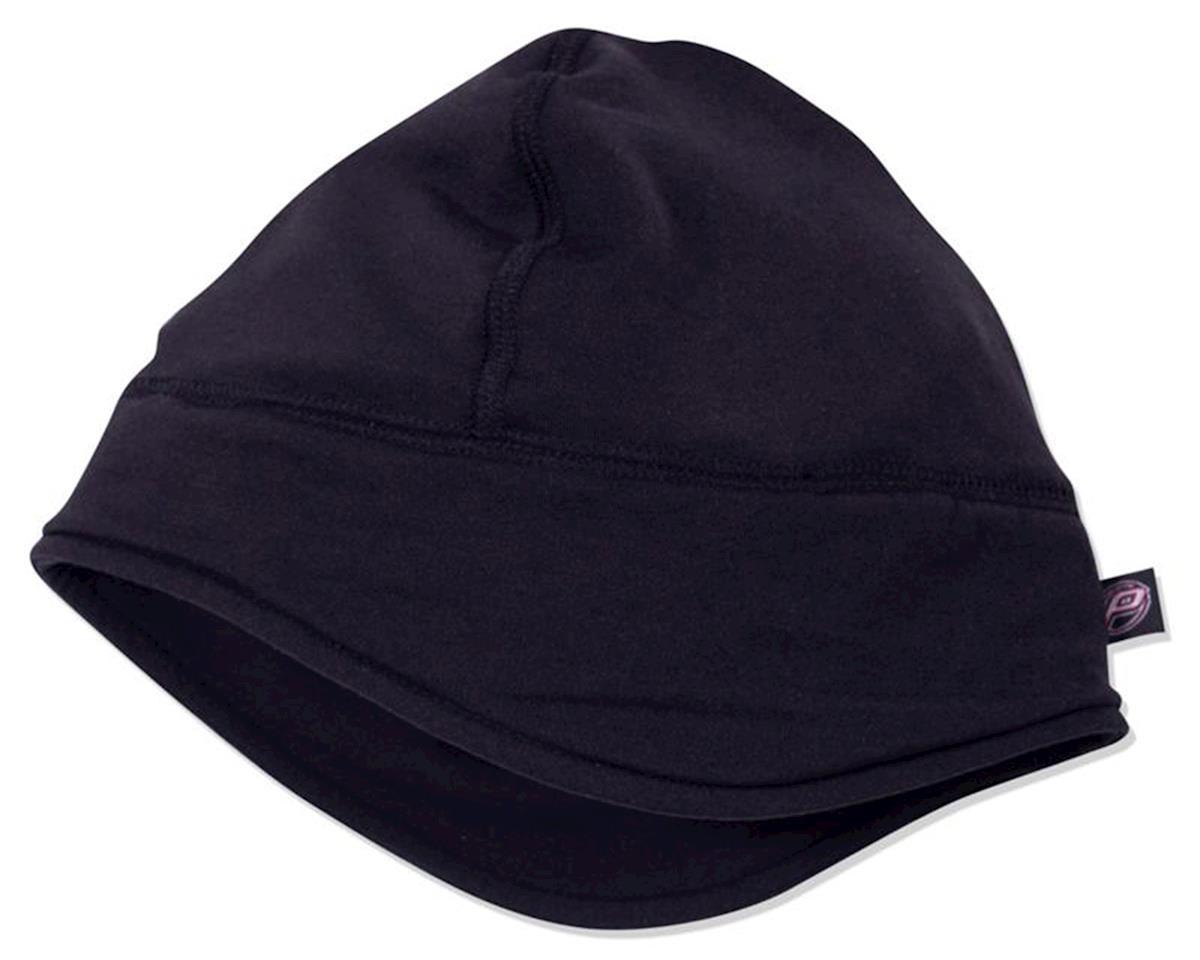 Pace Sportswear Merino Wool Spandex Skull Cap (Black)