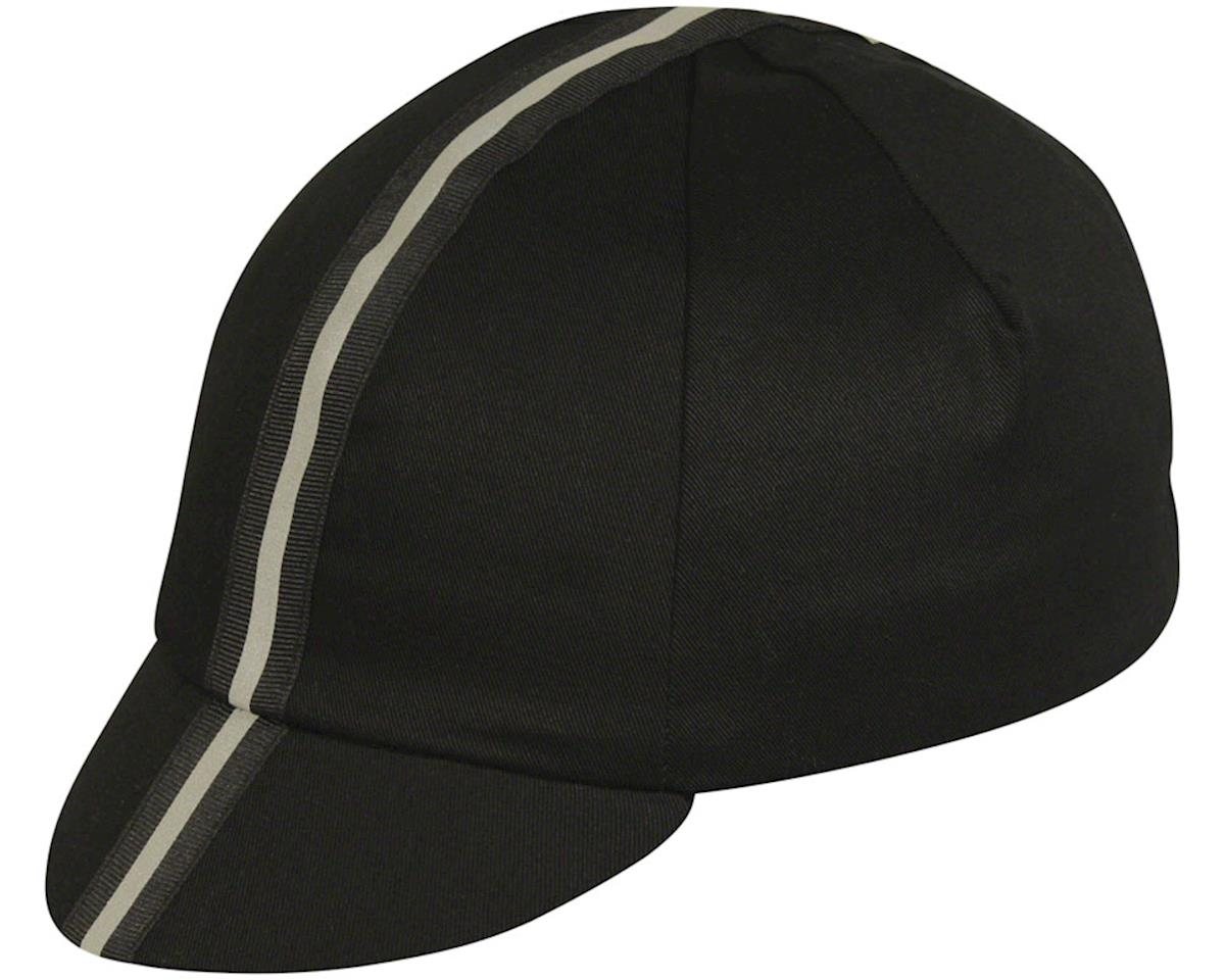 Pace Sportswear Cap-Black Reflective Traditional Cap