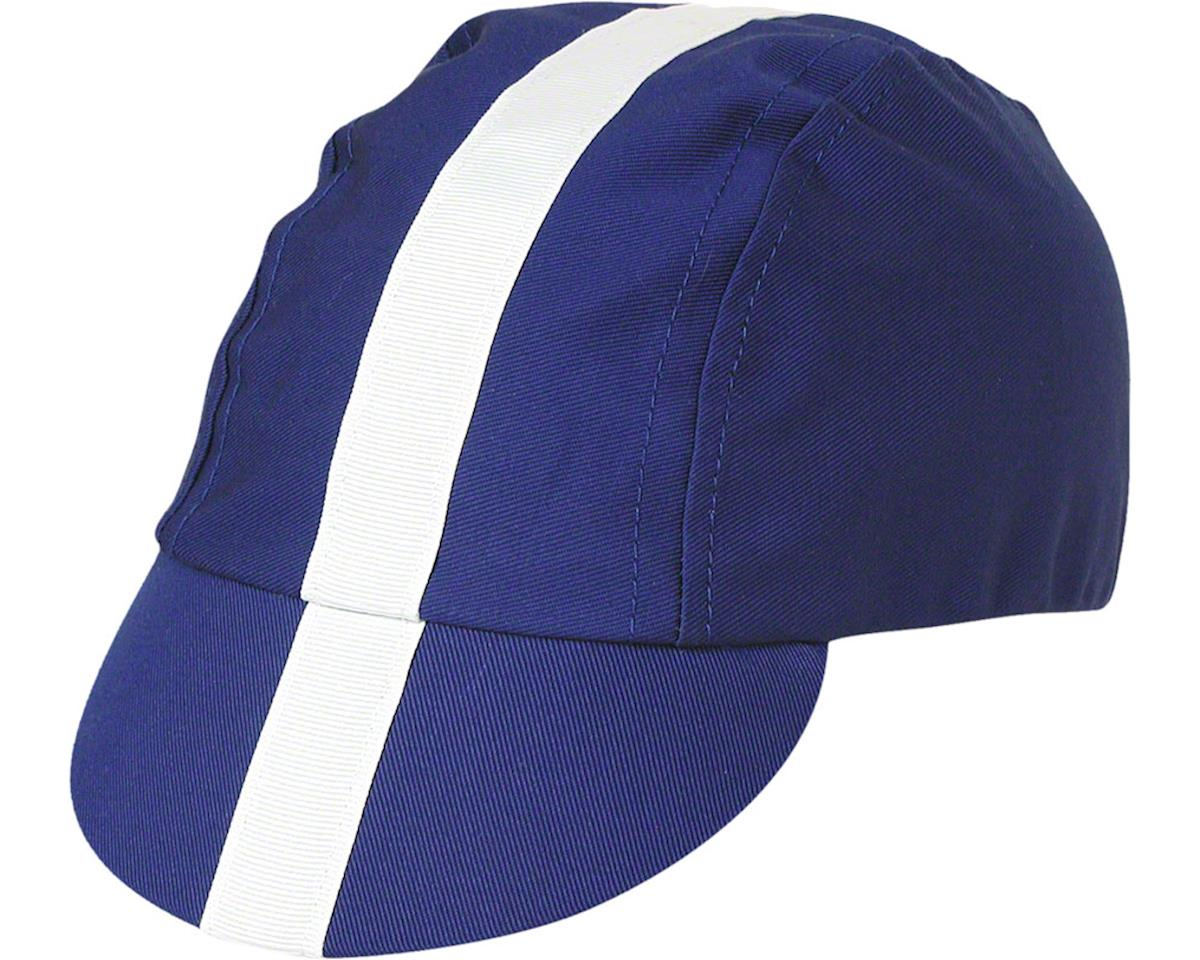 Pace Sportswear Classic Cycling Cap Royal Blue with White Tape MD//LG