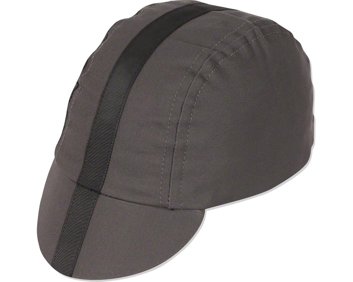 Pace Sportswear Classic Cycling Cap (Charcoal w/ Black Tape) (MD/LG)