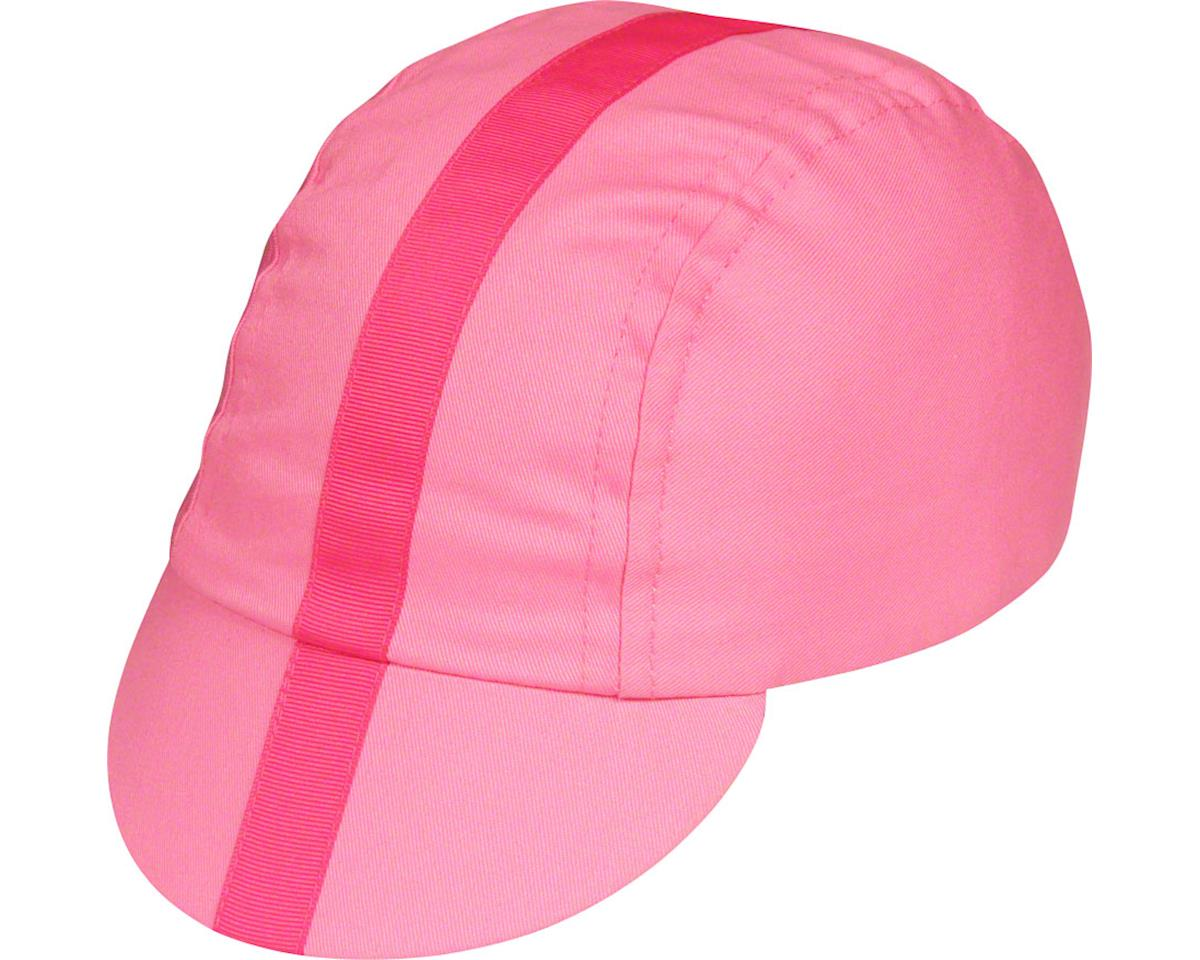 Pace Sportswear Classic Cycling Cap (Pink w/ Pink Tape) (M/L)