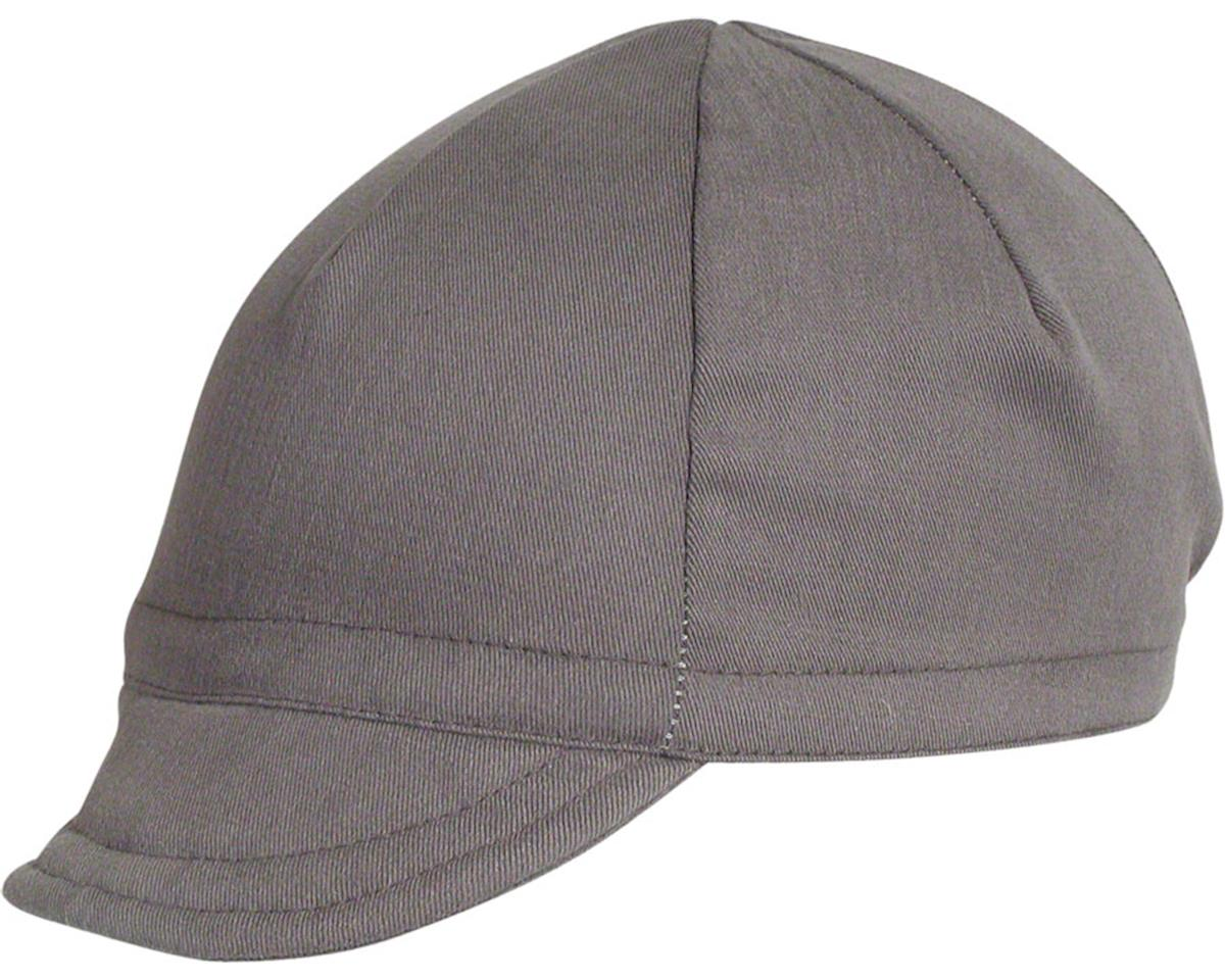 Pace Sportswear Euro Soft Bill Cycling Cap (Graphite) (M/L) | alsopurchased