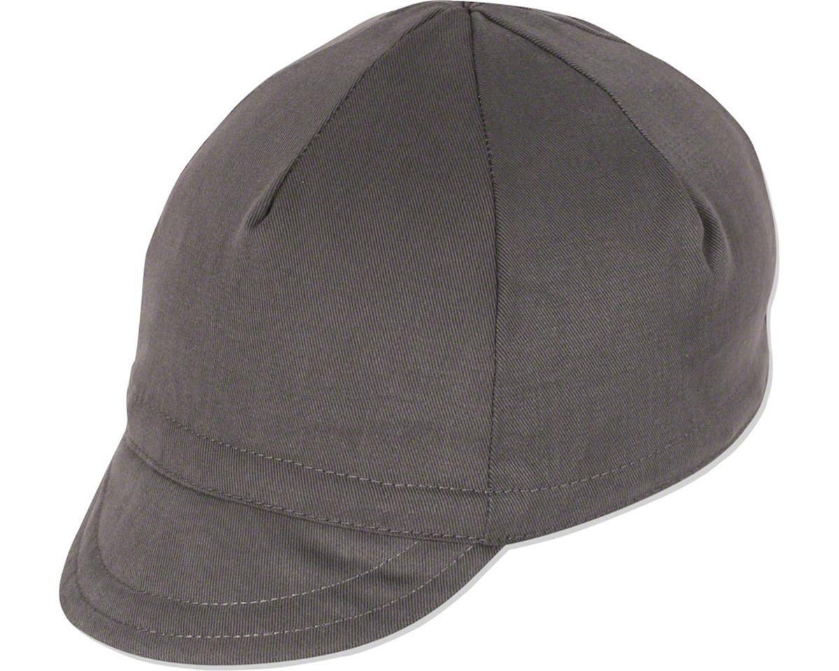 Pace Sportswear Euro Soft Bill Cycling Cap (Graphite) (XL)