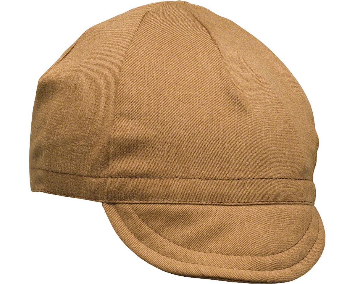 Pace Sportswear Euro Soft Bill Cycling Cap (Nutmeg) (MD/LG)