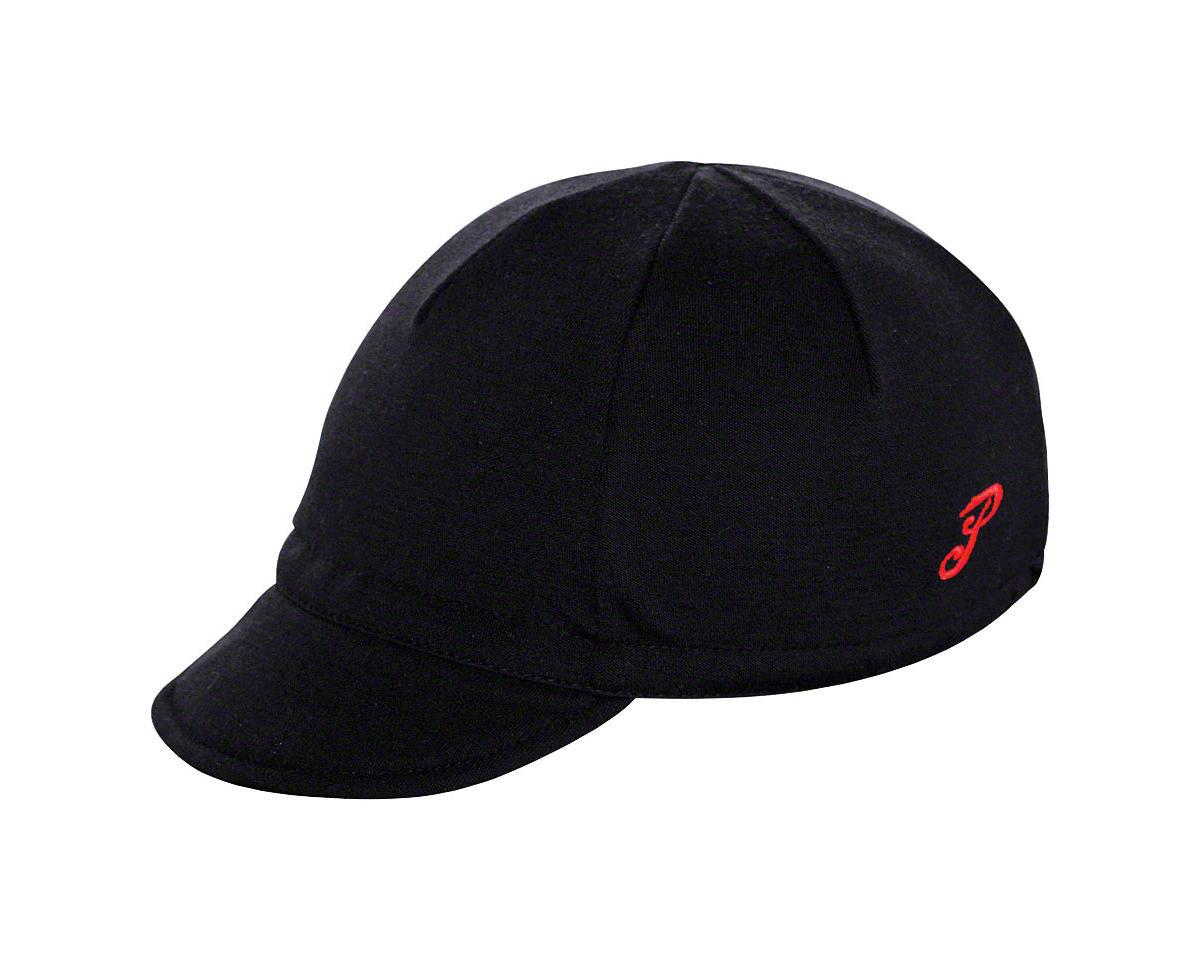 Pace Sportswear Merino Wool Cap: Black
