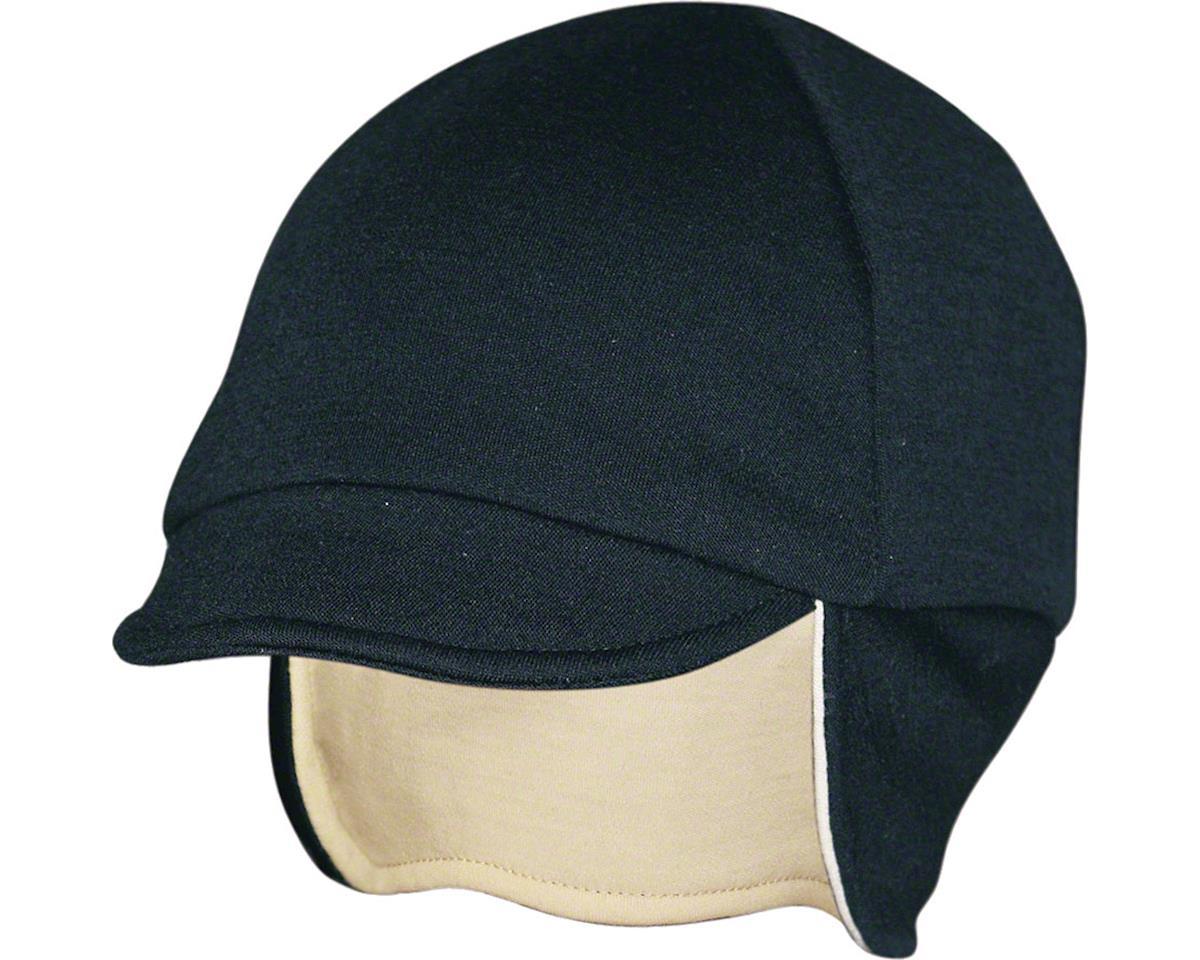 Pace Sportswear Reversable Merino Wool Cap (Eggshell/Black)