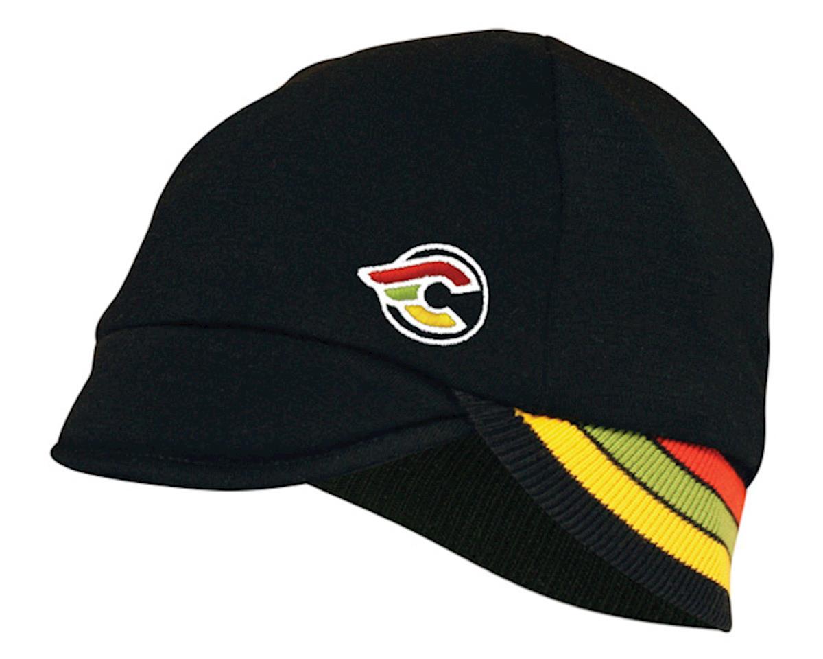 Pace Sportswear Reversible Merino Wool Cap (Cinelli/Black)