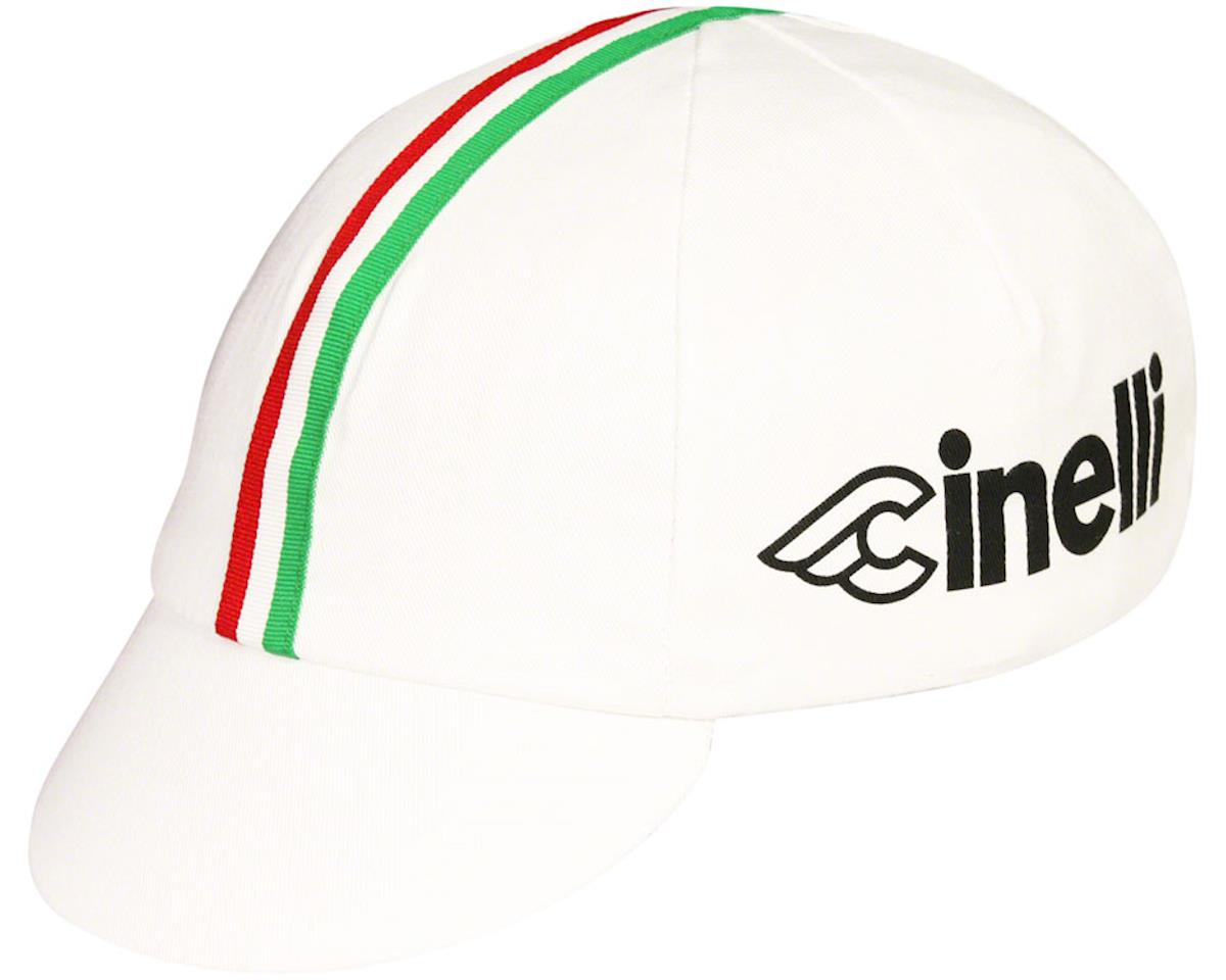 Pace Sportswear Cinelli Cycling Cap (White/World Champion Stripe)