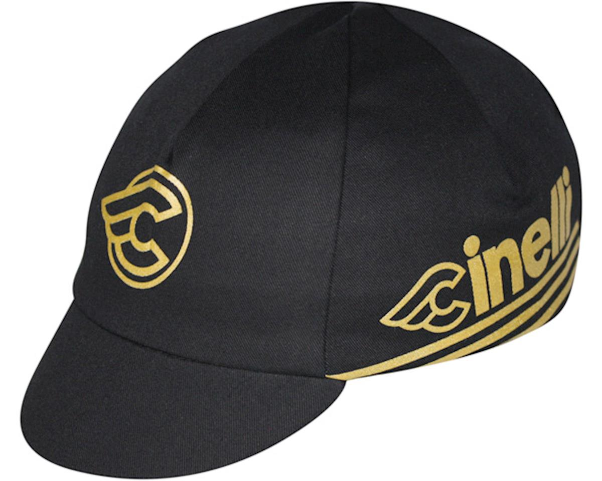 Pace Sportswear Cinelli Cycling Cap (Black/Gold)