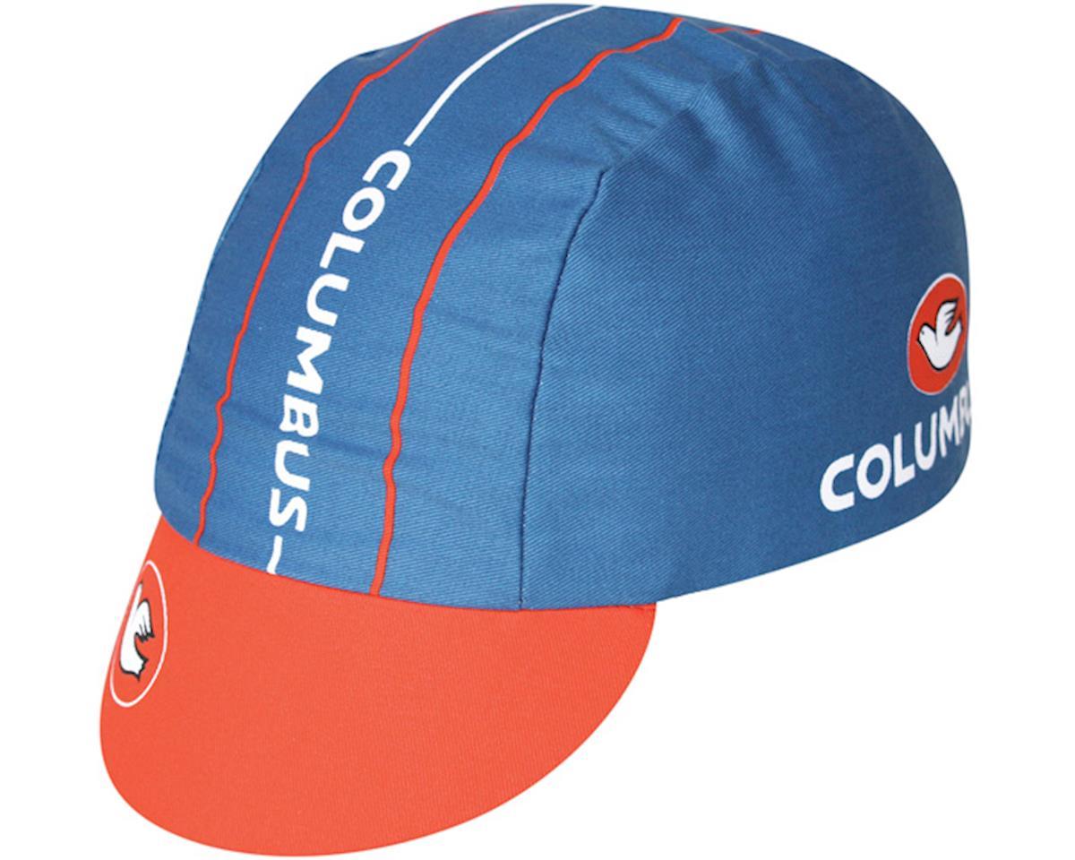 Pace Sportswear Columbus Cycling Cap (Blue/Orange)