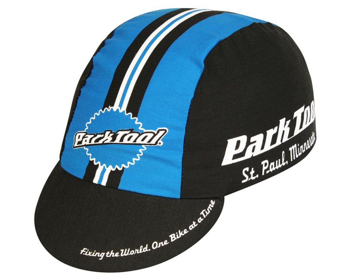 Pace Sportswear Park Tool Cycling Cap (Black/Blue)