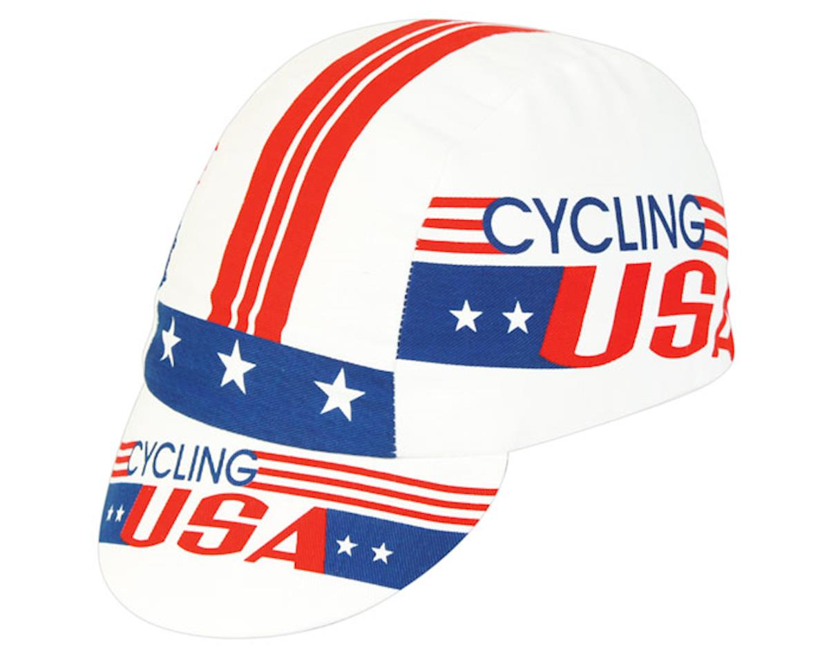 Pace Sportswear Cycling USA Cap (Red/White/Blue)