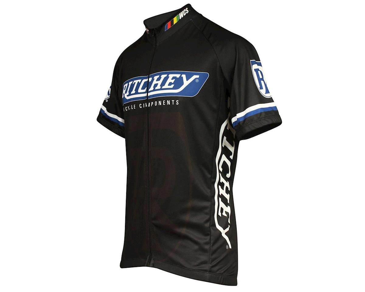 Pace Sportswear Ritchey WCS Cycling Jersey (Black) (XL)