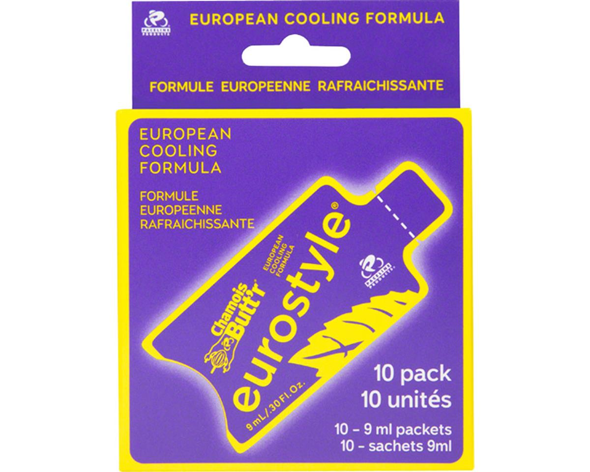 Paceline Products Chamois Butt'r Eurostyle: 0.3oz Packet, Box of 10