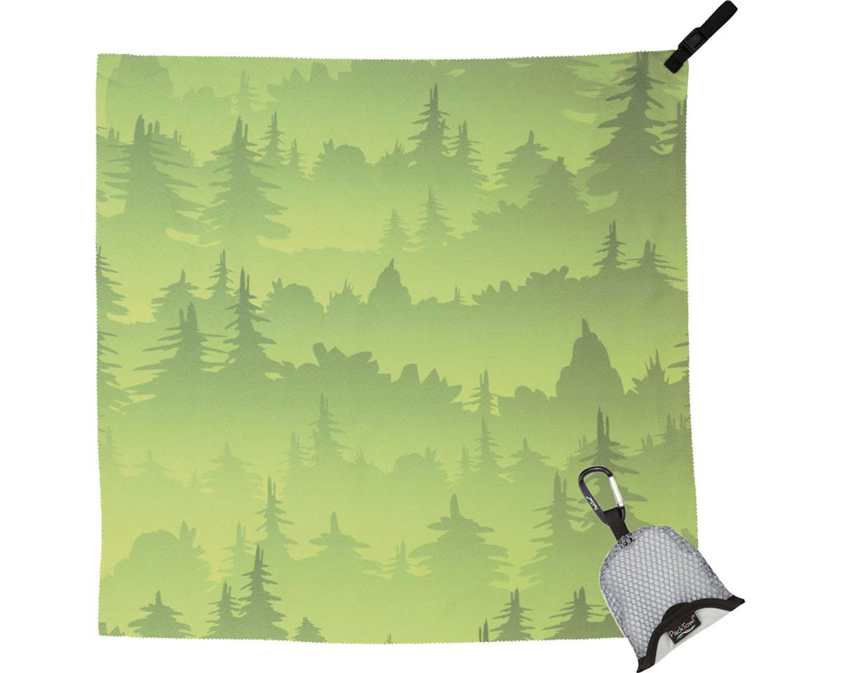 Packtowl Nano Towel (Green Trees)