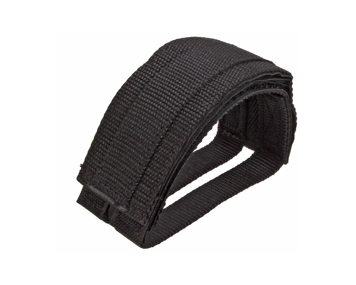 Pake Pedal straps, black  pair