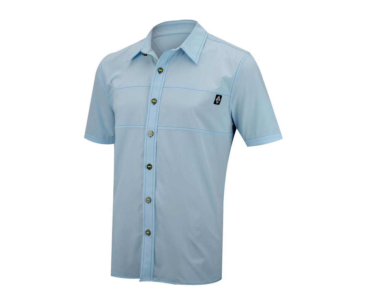 Panache Cyclewear Co Move Button-Up Shirt (White)