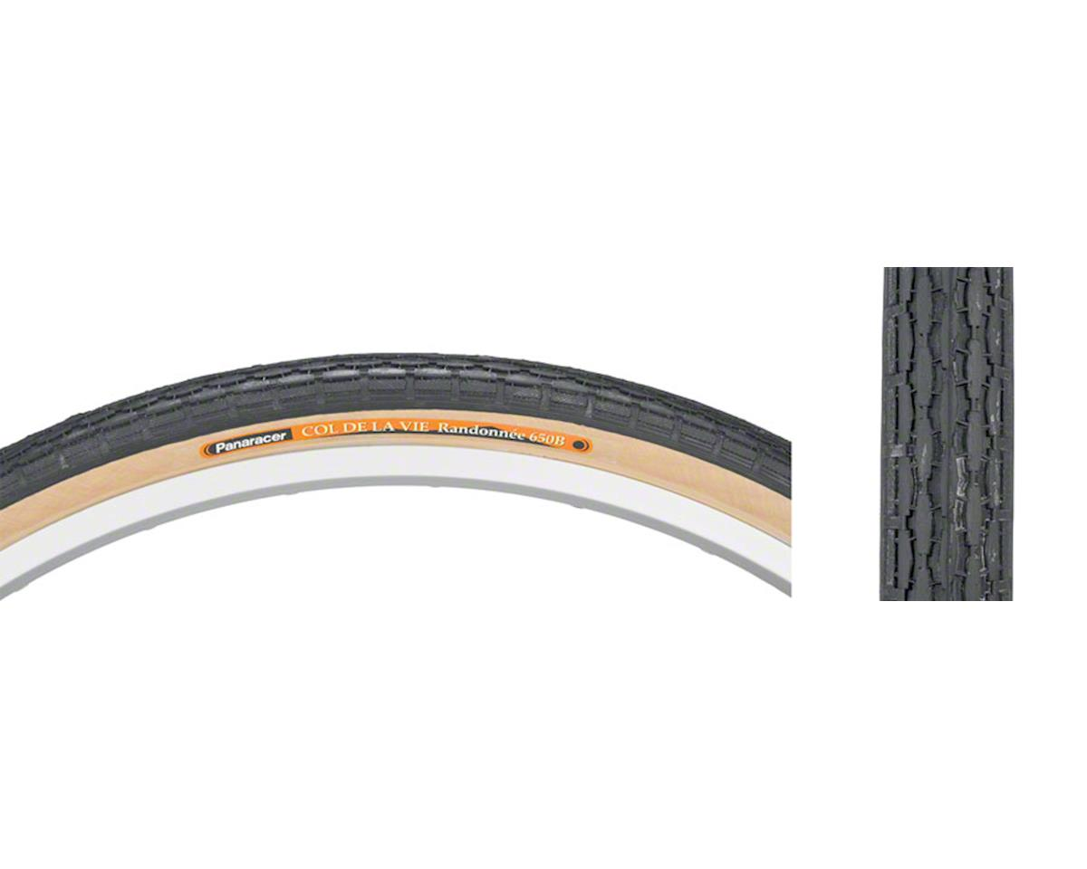 Panaracer Col de la Vie Tire - 650B x 38mm, Clincher, Wire, Black/Tan, 60tpi
