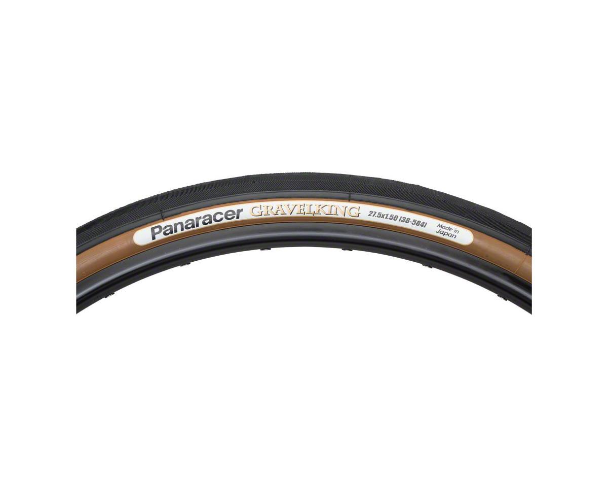 Panaracer Gravelking Tubeless Gravel Tire (Black/Brown) (650 x 38)