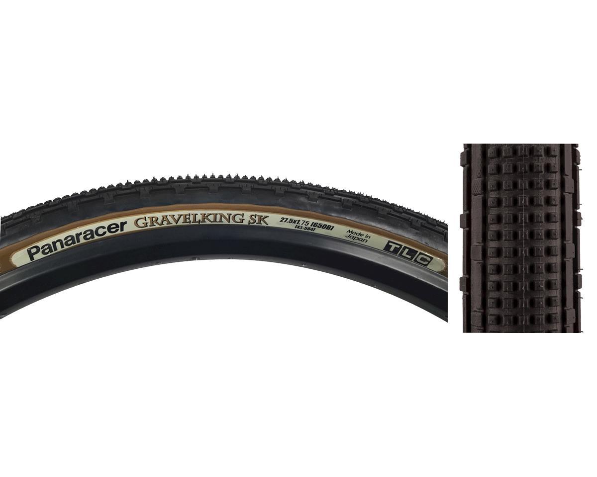 Panaracer Gravelking SK Tubeless Gravel Tire (Black/Brown) (650 x 43)