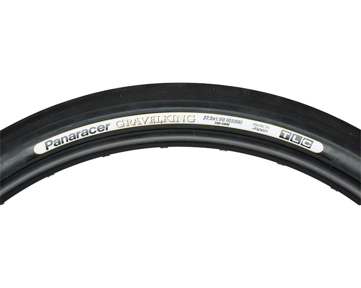 Panaracer GravelKing Slick Tire 27.5x1.9 (650B x 48mm) Folding Bead, Black Sidew