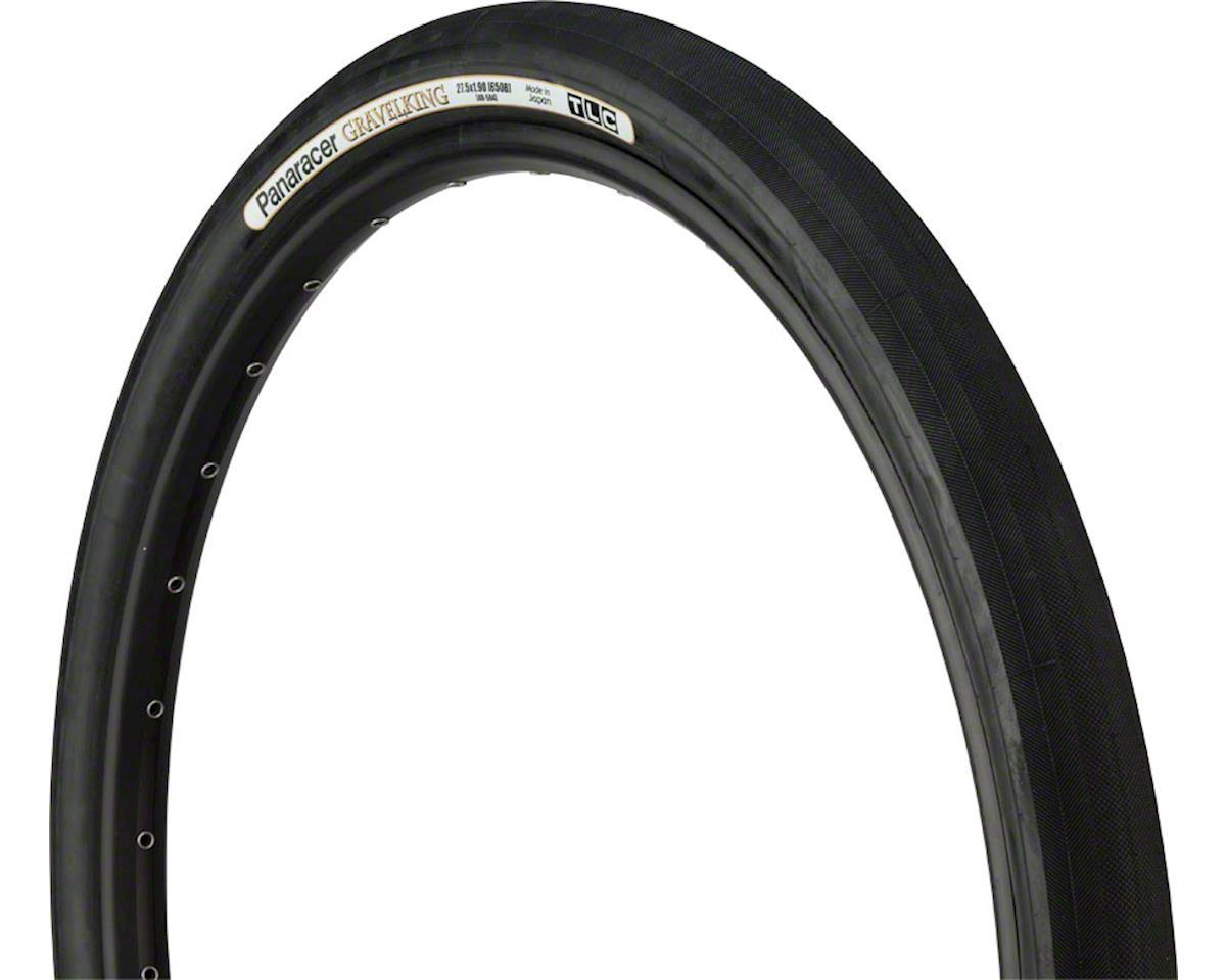 Panaracer Gravelking Tubeless Gravel Tire (Black/Black) (650 x 48)
