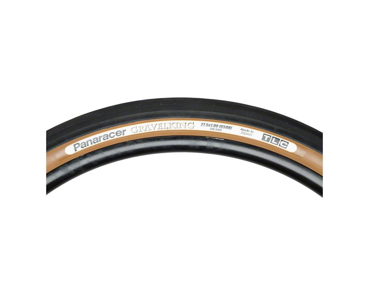 Panaracer Gravelking Tubeless Gravel Tire (Black/Brown) (650 x 48)