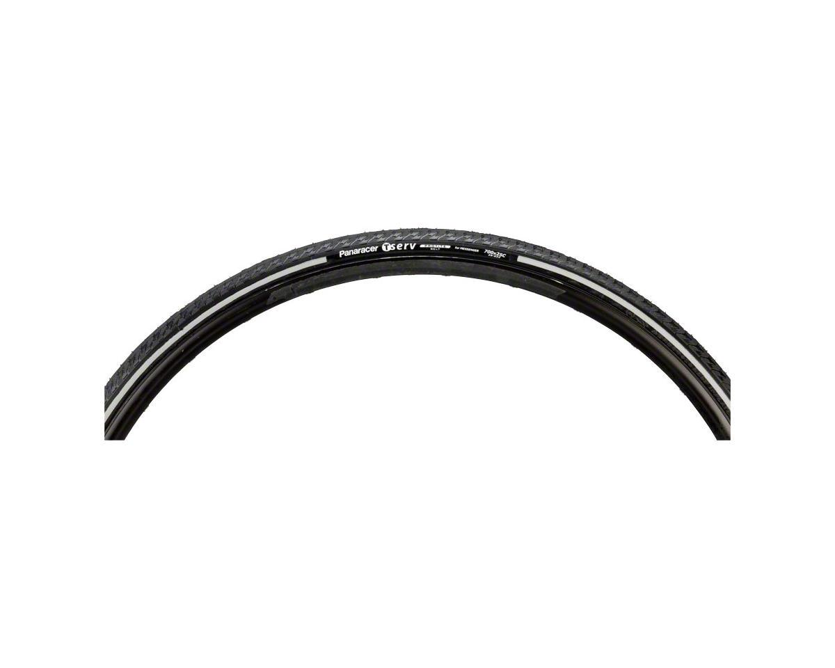 T-Serv ProTite 700 x 25mm Reflective Sidewall Tire Folding Bead Black/