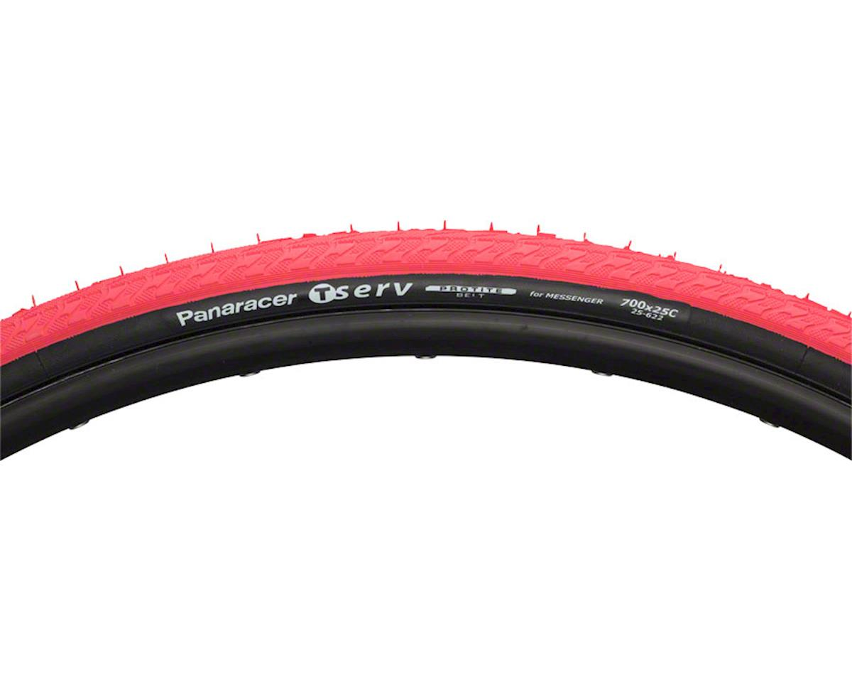 Panaracer T-Serv ProTite Tire (Red/Black) (700 x 25)