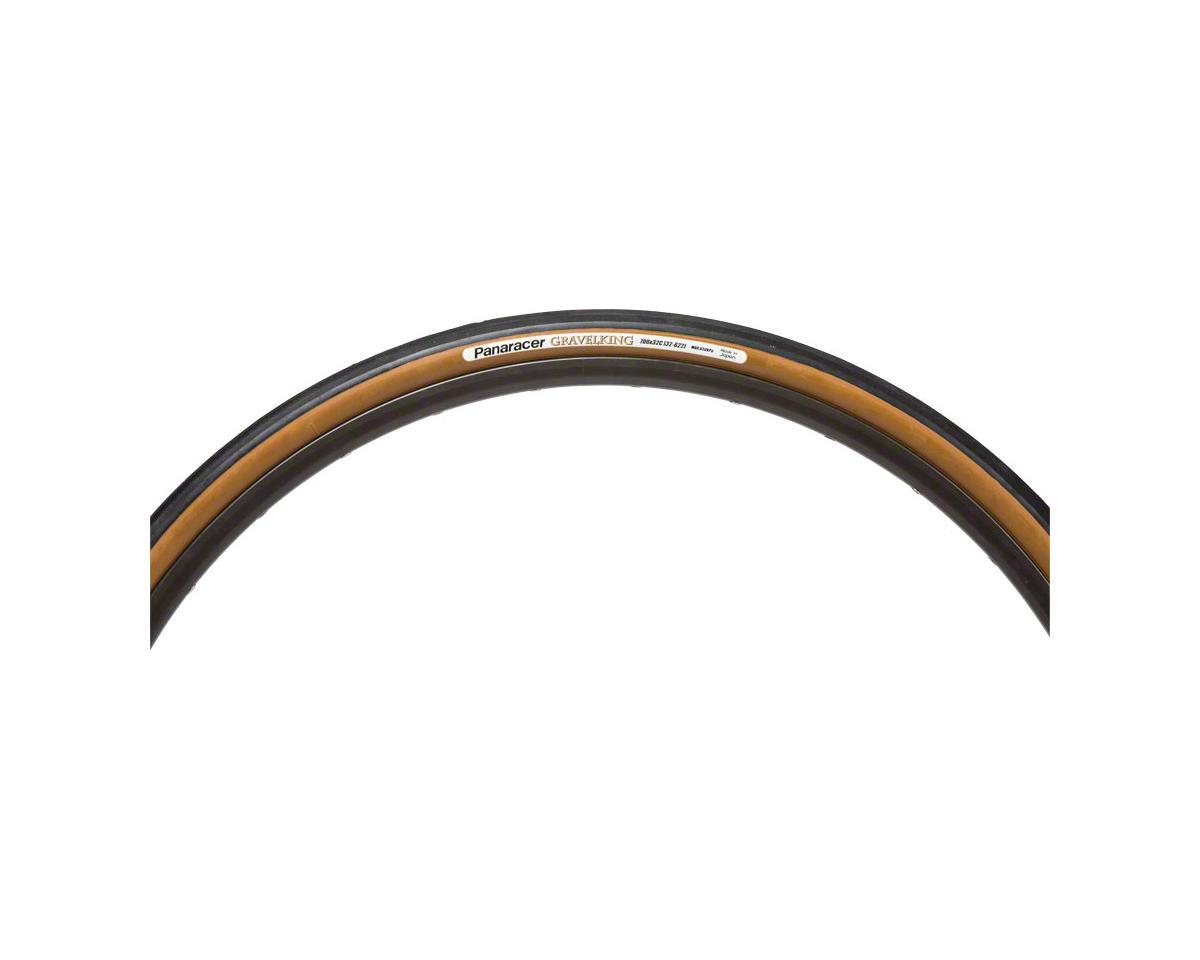 Panaracer Gravelking Tubeless Gravel Tire (Black/Brown) (700 x 26)
