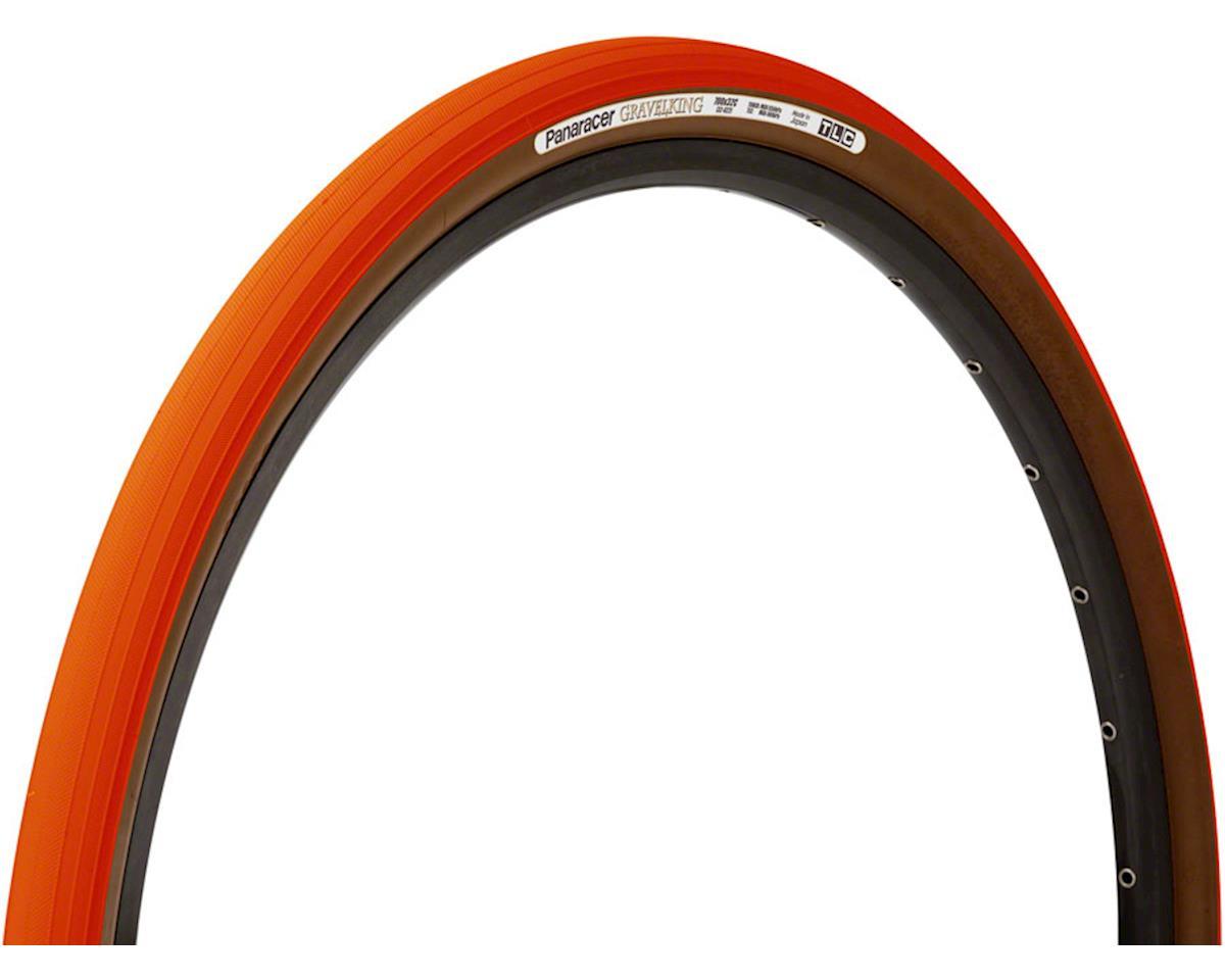Panaracer Gravelking Tubeless Slick Tread Gravel Tire (Orange/Brown)