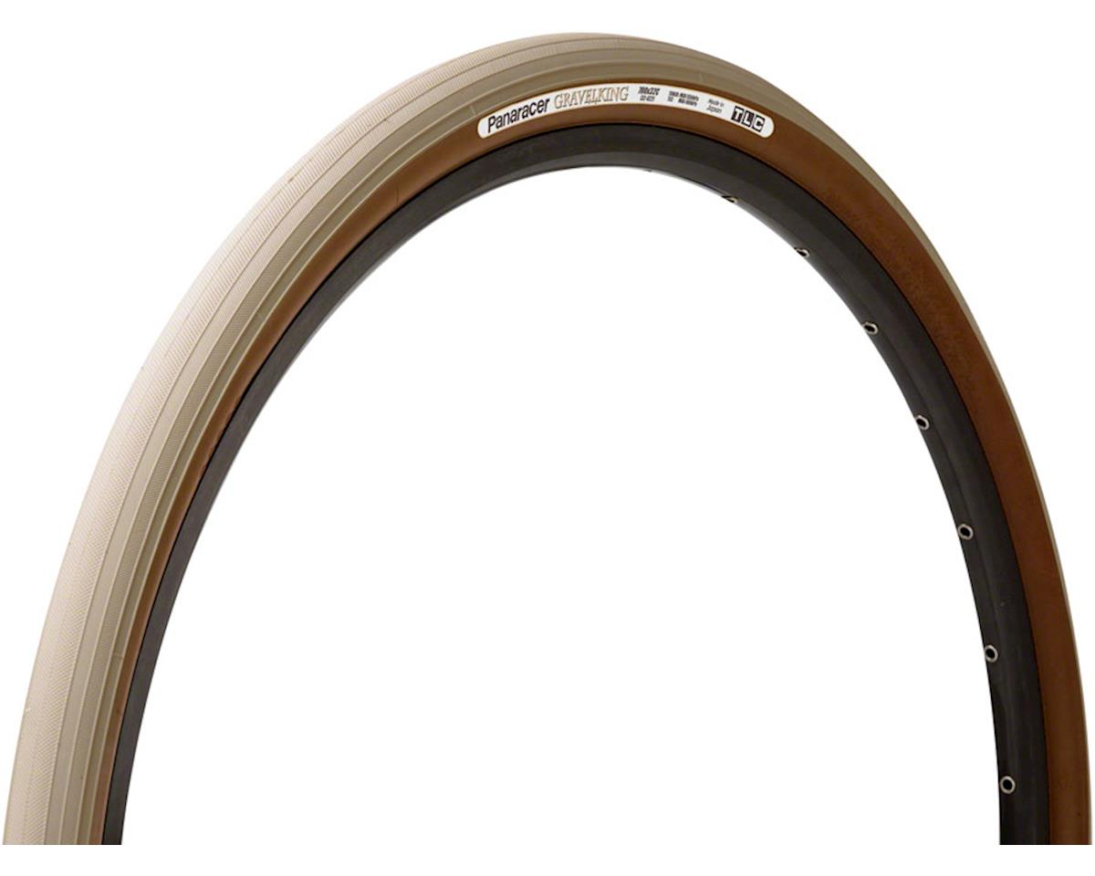 Panaracer Gravelking Tubeless Slick Tread Gravel Tire (Sand Stone/Brown) | relatedproducts