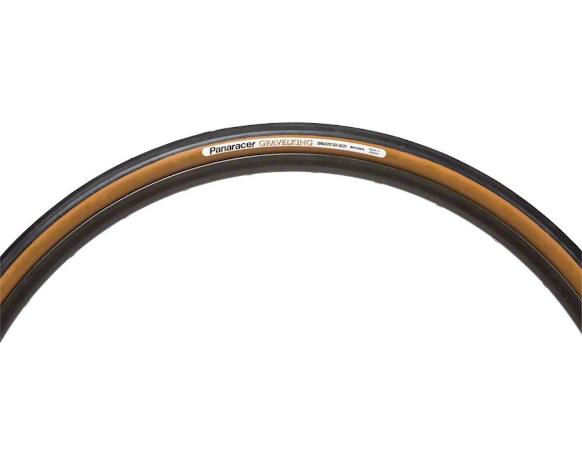 Panaracer Gravelking Tubeless Gravel Tire (Black/Brown) (700 x 32)