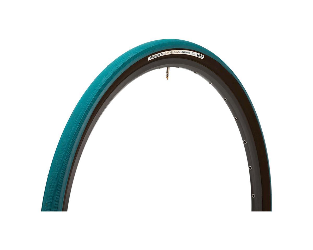 Panaracer Gravelking Tubeless Slick Tread Gravel Tire (Nile Blue/Black)