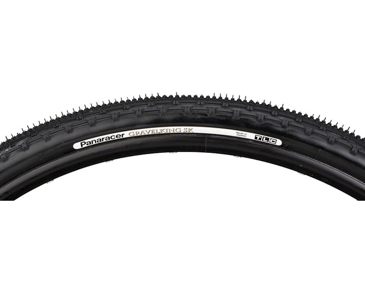 Image 3 for Panaracer Gravelking SK Tubeless Gravel Tire (Black/Black) (700 x 32)